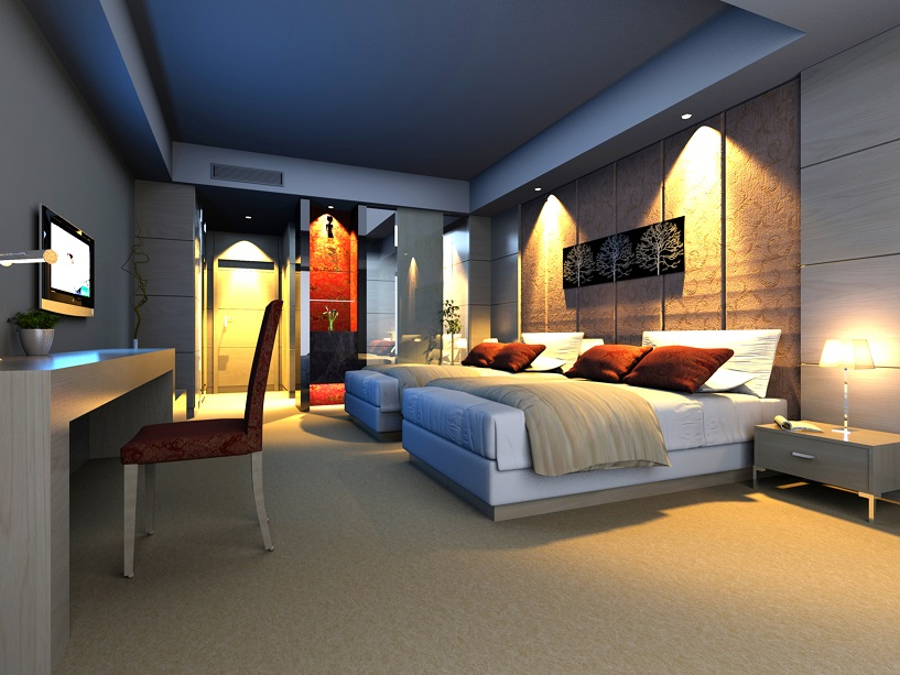 Bedroom After Interior Redesign